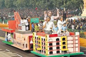 Last year, the AAP government highlighted its strides in the field of education in its Republic Day tableau. In 2017, Delhi was participating in the parade after three years.