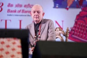 Philip Norman, during a session moderated by Ajoy Bose (not in picture) at the Jaipur Literature Festival  2018 said that McCartney and Lennon were in a way, complete opposites, but their creations were symbiotic.