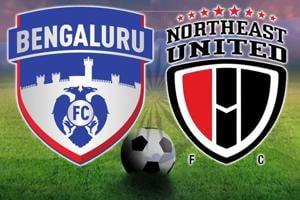 Bengaluru FCvs NorthEast United FC, Indian Super League, live score