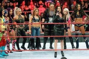WWE's 'Diva Revolution' comes full circle with first-ever women's...