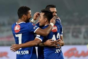 Chennaiyin FC moved to the top of the Indian Super League (ISL)...
