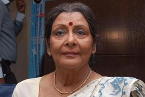 Veteran Bengali actress Supriya Devi, who acted in Meghe Dhaka Tara...
