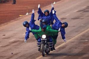 Women daredevils, grand parade, ASEAN leaders mark India's 69th...