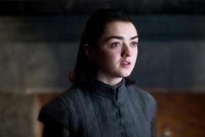 Maisie Williams reveals the premiere month for Game of Thrones season...