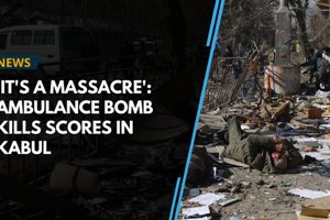 A suicide car bomber killed at least 40 people and wounded about 140...