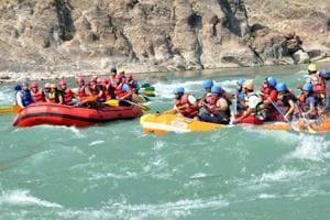 The white water rafting industry, pegged at an annual Rs 70– Rs 90 crore and open for nine months barring the monsoon (July-September), has taken a hit.