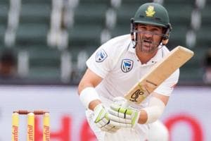South Africa's Dean Elgar hits fifty, deflates India in Johannesburg...