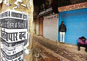 The sealing started in the city on December 22, after the SC appointed monitoring committee started taking against the traders misusing the residential properties for commercial use