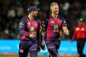 Ben Stokes joined Steve Smith in Rajasthan Royals as the England all-rounder became the most expensive foreign buy on day 1 of the IPLplayer auction. Catch highlights of the IPLauction here.