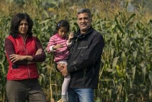 The search for a plot alone took two years. After stomping through fields so full of water they could only be a scam, and land so alkaline it held not a blade of grass, environment journalist Bahar Dutt and her husband Vijay Bedi, a wildlife filmmaker, finally found a bhindi field they loved. Here they are, with their two-year-old, all ready to begin their adventure.