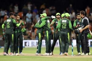 Pakistan cricket team on top of the world with New Zealand T20 series...