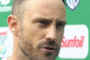 South Africa captain Faf du Plessis said his side gave away more runs...
