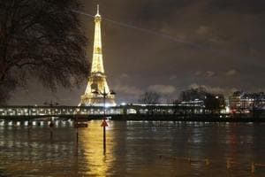 Rising Seine river poses flood risk, nearly 1,500 evacuated in Paris...