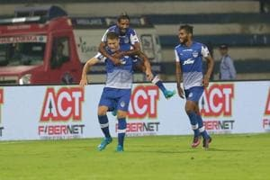 Bengaluru FC climbed to the top of the Indian Super League standings...