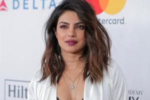 Priyanka Chopra paints the red carpet white at pre-Grammy gala. See...