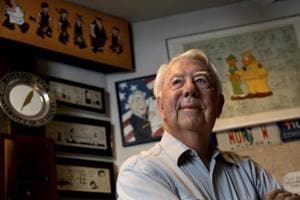 Creator of long-running comic strip Beetle Bailey, Mort Walker, passes...