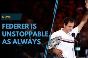 Roger Federer defeated Marin Cilic in the Australian Open final of...