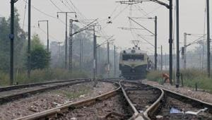 Local trains heading into Mumbai were delayed by 10 to 15 minutes during the morning peak hours because of the incident.