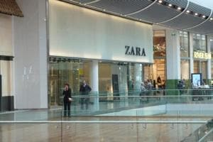 Zara's pop-up store in London goes digital with click-and-collect...