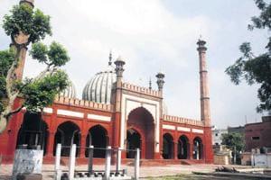 Delhiwale: The Jama Masjid miniature
