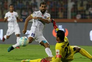 A late strike by Balwant Singh gave Mumbai City FC an exciting 4-3 win...