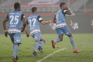 A penalty from Trindade Goncalves was enough to hand Jamshedpur FC an...