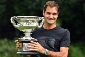 Roger Federer's day out after Australian Open triumph