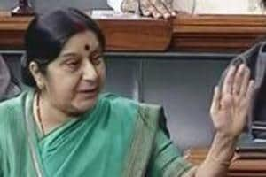 Sushma Swaraj to visit Nepal on Thursday