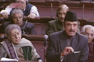 Congress leader Azad among five MPs chosen for Outstanding...