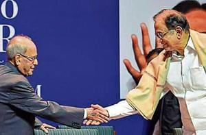 Both Mukherjee and Chidambaram have held the position of Union finance minister at various junctures in their careers.