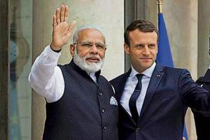 French President Emmanuel Macron is likely to be attending the solar alliance meeting in New Delhi.