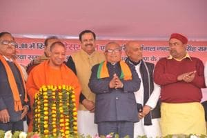 Yogi inaugurates Mahesra bridge connecting Nepal to east UP