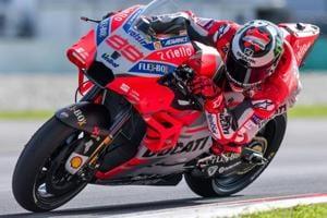 Jorge Lorenzo of Ducati breaks Sepang lap record to blitz MotoGP test