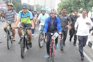 Civic body gets cracking on Navi Mumbai's  first cycling track, may complete it by end of year