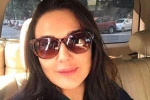 Actor Preity Zinta will be seen next in the Bollywood film Bhaiyyaji Superhitt.