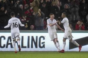 Arsenal's Premier League woes deepen, lose 1-3 to Swansea City