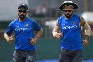Virat Kohli says Ajinkya Rahane 'strong candidate' for No. 4 instead...