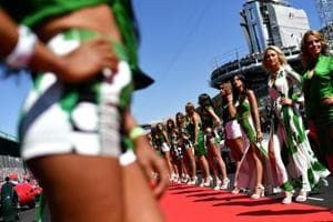 Formula One abolishes 'grid girls' in F1 Grand Prix weekends and...