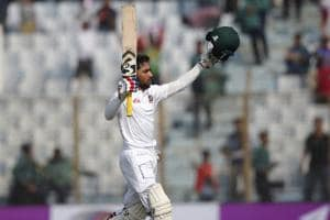 Ton-up Mominul Haque powers Bangladesh to big total vs Sri Lanka in...