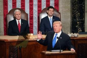 Trump talks immigration, terror and trade in State of the Union...