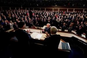 Trump's State of the Union address in Washington: Sidelights