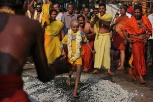 Photos: Thaipusam processions held in Malaysia, India ahead of lunar...