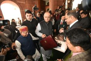 Photos | Union Budget 2018: Highlights from Arun Jaitley's...