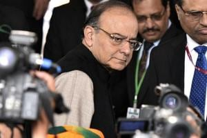 Presenting the Union Budget 2018 in Parliament on Thursday, Finance...