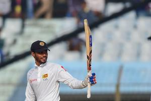 Dhananjaya de Silva's ton leads Sri Lanka's reply after Bangladesh...