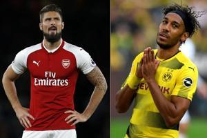 Arsenal sign Pierre-Emerick Aubameyang, Olivier Giroud makes Chelsea...