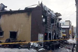 11 killed in fire at residence for elderly in Japan's Sapporo city