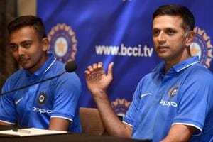 Former captain Rahul Dravid is now the coach of the India team taking part in the ICCU-19 cricket World Cup and also the India A  outfit.
