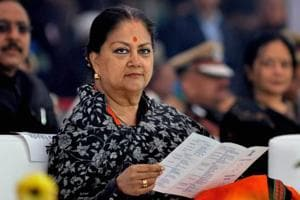 Jolt to Raje government as Congress on course to win all 3 bypolls in...