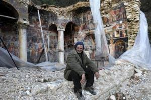 Photos: Ruined Albanian churches await salvation from tourists